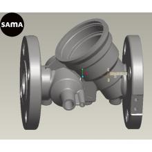 Облечения нержавеющей стали OEM для отливки тела клапана, части клапана