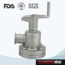 Vanne de diaphragme de fond de réservoir hygiénique en acier inoxydable (JN-DV1008)