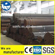 Tuyau en acier ERW de haute qualité pour la construction en serre