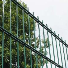 Clôture double de fil enduite de PVC de haute qualité (usine de Yunde)