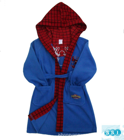 Child Fleece Bathrobe