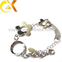 Ювелирные изделия нержавеющей стали с цветком формируют браслет vners для девушки