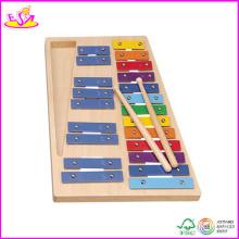 2014 nouveau xylophone en bois, Xylophone en bois populaire et Xylophone en bois de vente chaude pour des enfants en stock W07c025