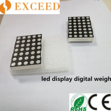 Tampilan Dot Matrix LED
