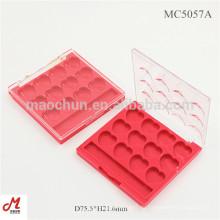MC5057A Für 12 Farben Herzform Pan Square Eye Shadow Kompaktes Gehäuse