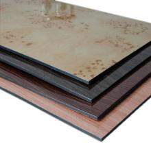unzerkbares Marmor / Granit Textur Aluminium Verbundplatte für Wanddekoration