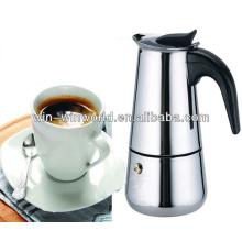 9 tazas que beben el fabricante de café europeo del café express del acero inoxidable