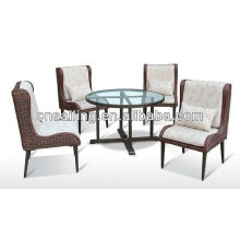 New Style All weather Wicker Patio dining set -5210