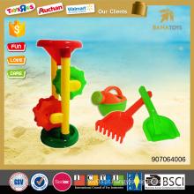 Atacado funil de plástico com água pode brinquedo de praia para o verão