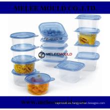Herramienta de inyección de plástico para contenedores fabricados en China