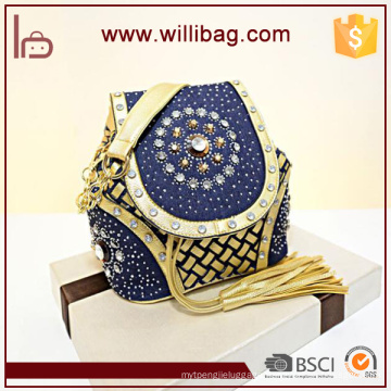 Unique Design Shoulder Bag For Girls PU Leather Messenger Bag