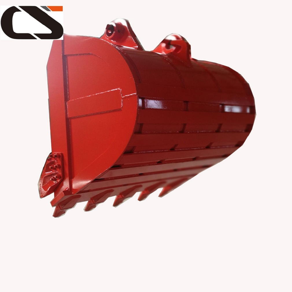 heavy duty excavator rock bucket