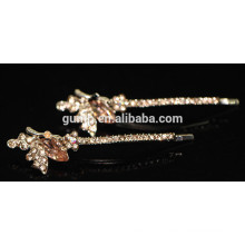 2015 Fashion Rhinestone Barrette Crystal Bobby pin