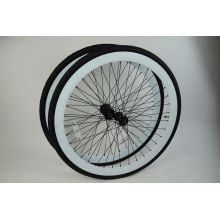 700c rodas de bicicleta de engrenagem fixa