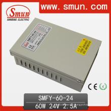 Fonte de alimentação à prova de chuva do modo do interruptor do diodo emissor de luz de 60W 24V 2.5A