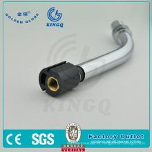 Tobera de consumible de la antorcha de MIG, extremidad, sostenedor de la punta, difusor de gas para la antorcha de la soldadura del estilo de Binzel 24kd