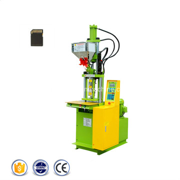 Machine de moulage par injection de carte SD en plastique standard