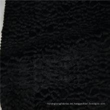 Tela de alta calidad al por mayor de la piel de la mezcla del rayón del algodón de la alta calidad para el abrigo