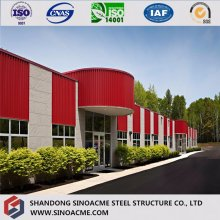 PU Sandwich Panel Pre Engineered Steel Structure Building/Construction/Exhibition