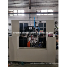 5 axis 2 heads drilling and 1 tufting toilet brush machine