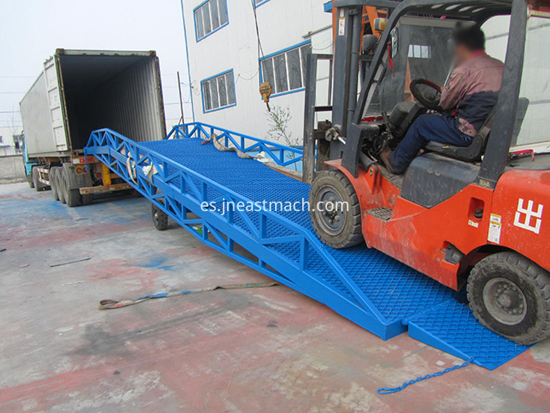 Easy Operation Mobile Loading Yard Ramp For Sale