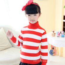 cheap red and white striped heavy children wool sweaters