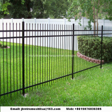 Powder Coated Zinc Steel Fence/ Wrought Iron Fence