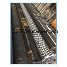 Preços compostos de Geogrid / Geogrid Biaxial revestido da fibra de vidro do betume