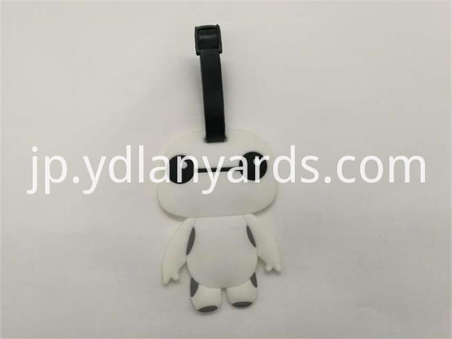 Cartoon Soft PVC Luggage Tag