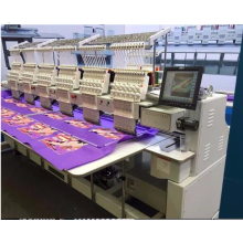 Used cap,flat,tee shirt embroidery machine 6 heads price