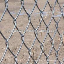 Vedação galvanizada da ligação chain (fábrica)