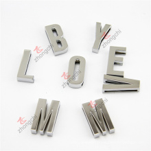 En gros En alliage Custom 30mm Slide Letter Charms for Belt (CSL51031)