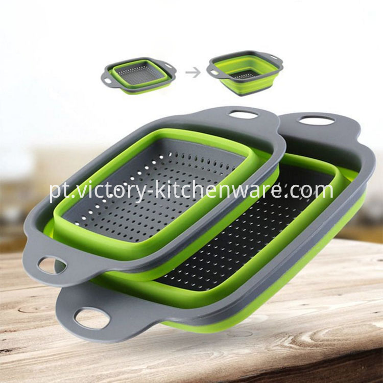plastic handle kitchen strainer