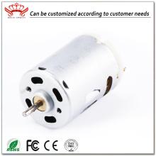 स्थायी चुंबक 6v डीसी इलेक्ट्रिक ब्रश मोटर