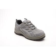 Esportes estilo novo projetado couro camurça & malha sapatas de segurança (SP1003)