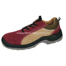 2015 venda quente alta qualidade Nubuck couro Makoni segurança sapatos