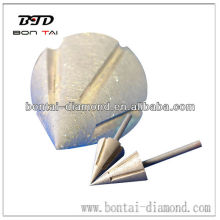 Cone shaped grinding wheel