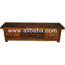 Sheesham armario tv de madera