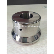 CNC Usinagem de peças de aço, peças de superfície de espelho de aço inoxidável