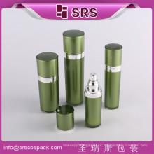 Frascos cosméticos cosméticos da bomba da loção do acrílico da forma do cone