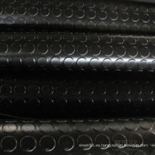 Estera de piso antideslizante de goma de la estera de la moneda de la venta caliente 2016