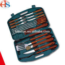 New Design BBQ Picnic Tools with Plastic Case