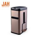JAH 7L Sensor Trash Bin with Toilet Brush