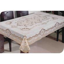 Toalha de mesa de renda longa de PVC (JFTB-002)