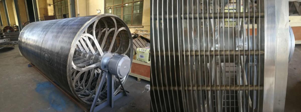 Cylinder mould 21