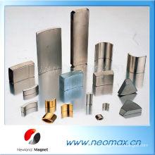 Сильный N35, N38, N40, N42, N45, N48, N50, N52 Кольцо, круглый, блок, цилиндр Постоянный редкоземельный N52 неодимовый магнит