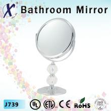 7 pulgadas espejo soporte cosmético de cristal