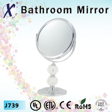7 Inch Crystal Cosmetic Stand Bathroom Mirror