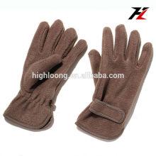 Profesionales de luz y cálidos invierno polar guantes de la mano
