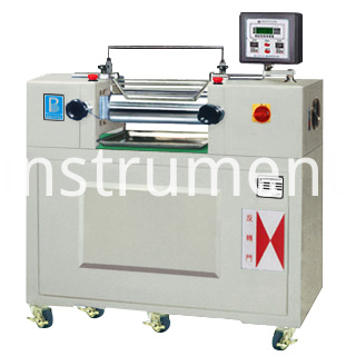 Oil Heating Lab Double Roll Mill /White